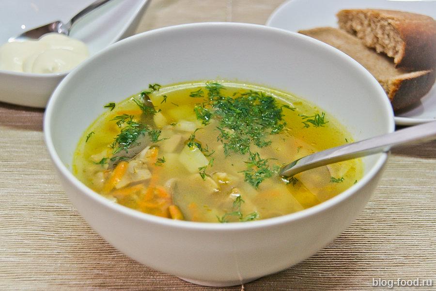 Как сварить вкусно грибной суп из шампиньонов
