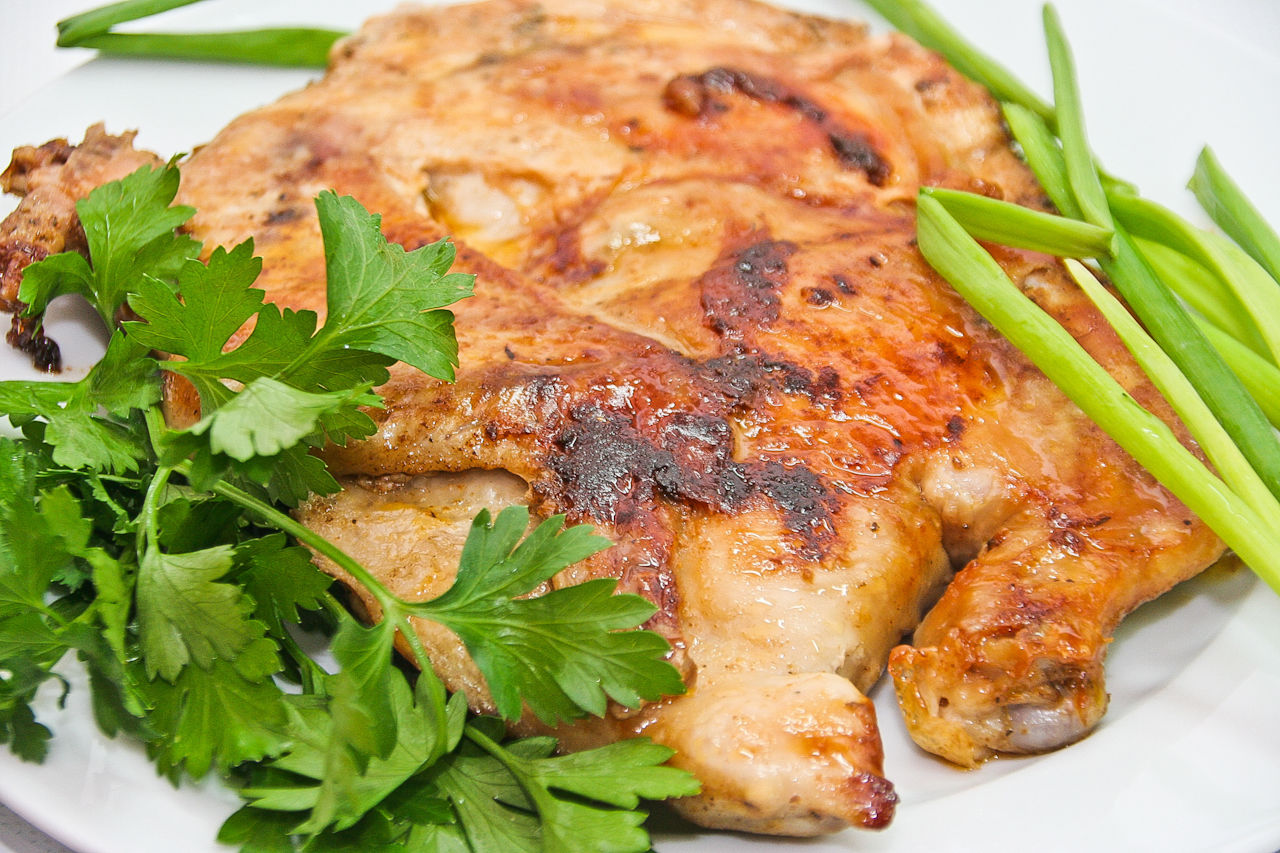 классический рецепт цыпленка табака в духовке