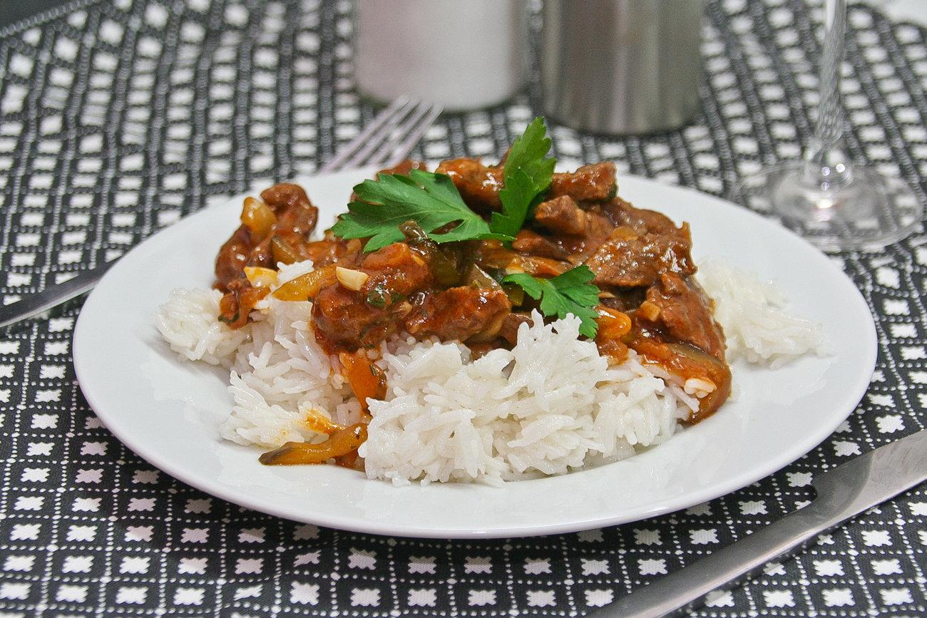 Гарнир из свинины рецепт пошагово