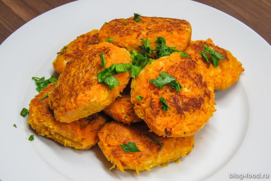 Рецепты с фото морковные котлеты