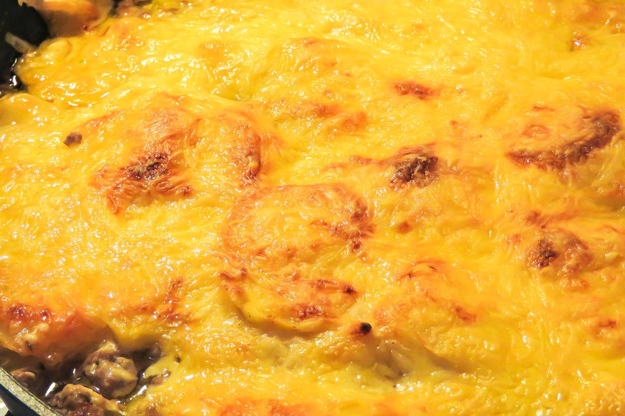 Мясо запеченная с картошкой пошаговый рецепт