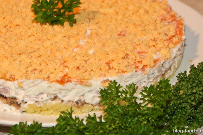 135Мимоза классический рецепт пошагово