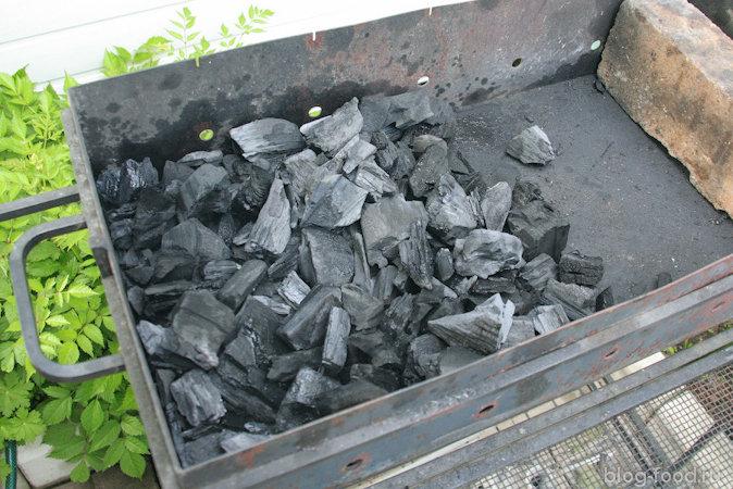Уголь в дырках
