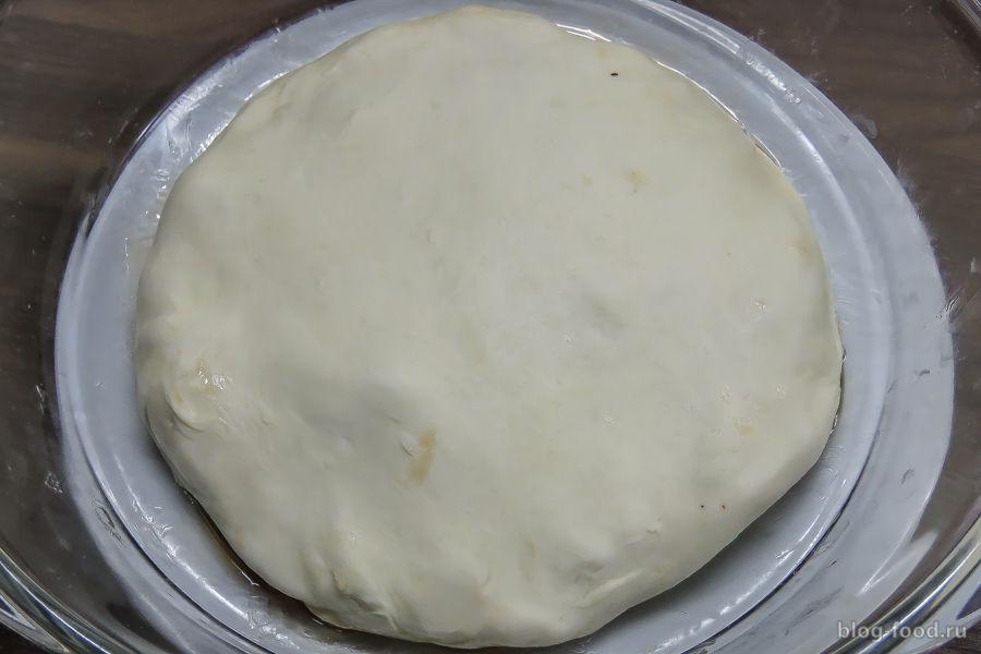 Луковый пирог (тарт татен)