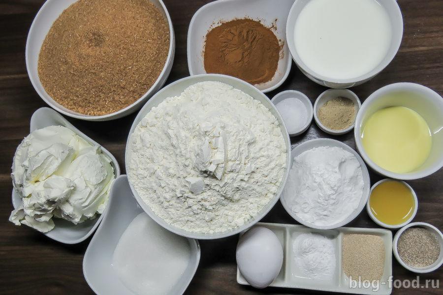 Синнамoн или коричные булочки с сырным кремом