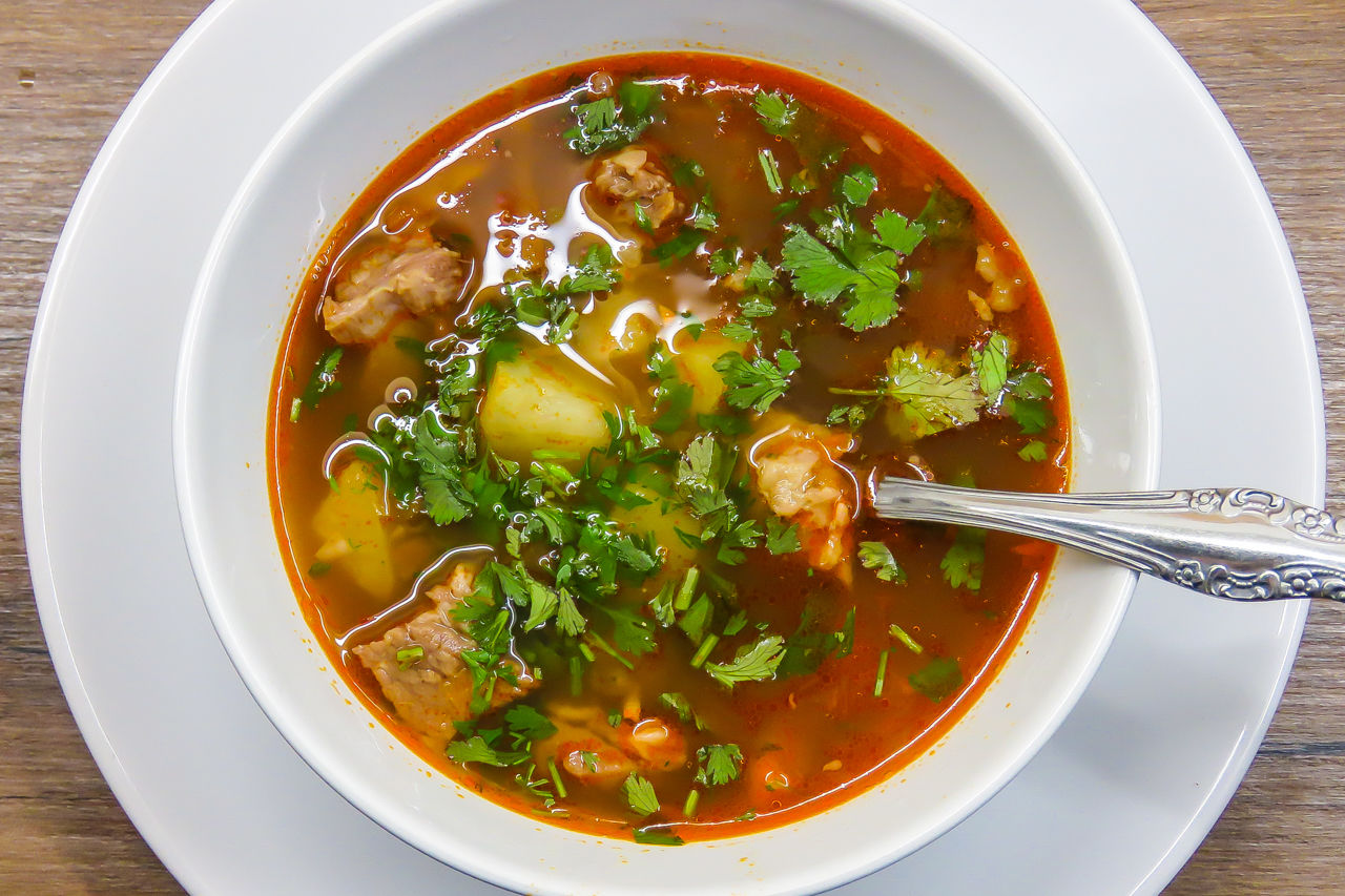 Суп из маша