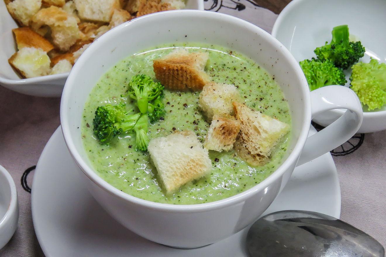 Крем Суп Из Брокколи Диета. Приготовление супа из брокколи: лучшие рецепты