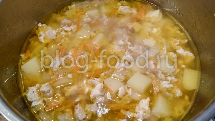 Суп из фарша
