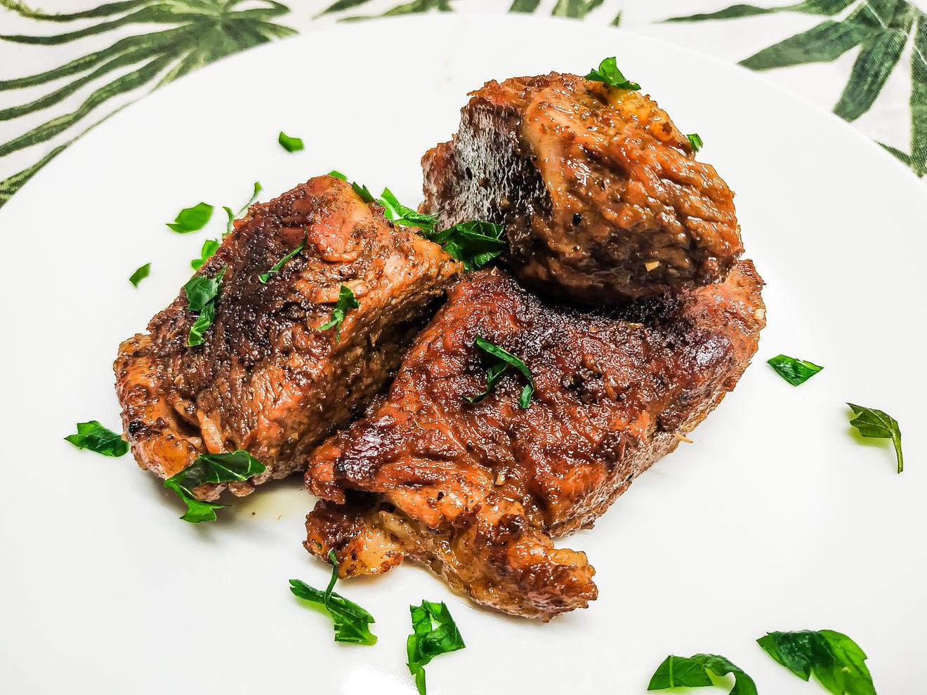 Мягкая жареная говядина