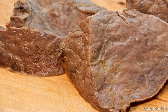 рецепты с фото говяжье легкое