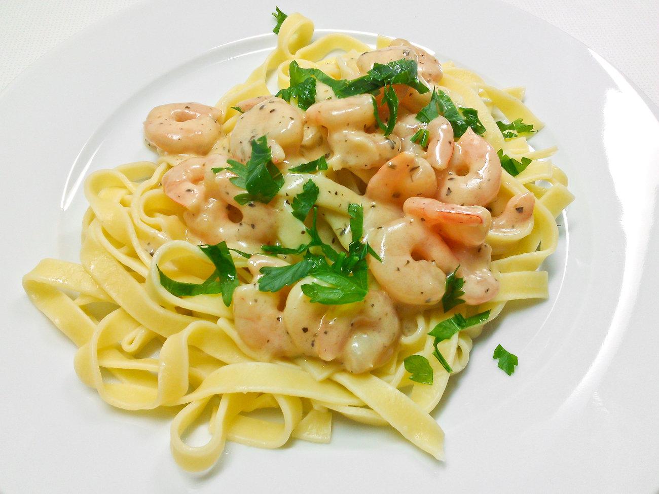 Соус с креветками для спагетти рецепт в домашних условиях