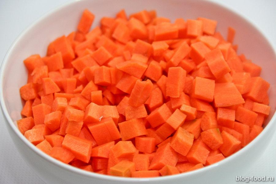Морковное ризотто, или ростбиф с тушёной морковью и сыром