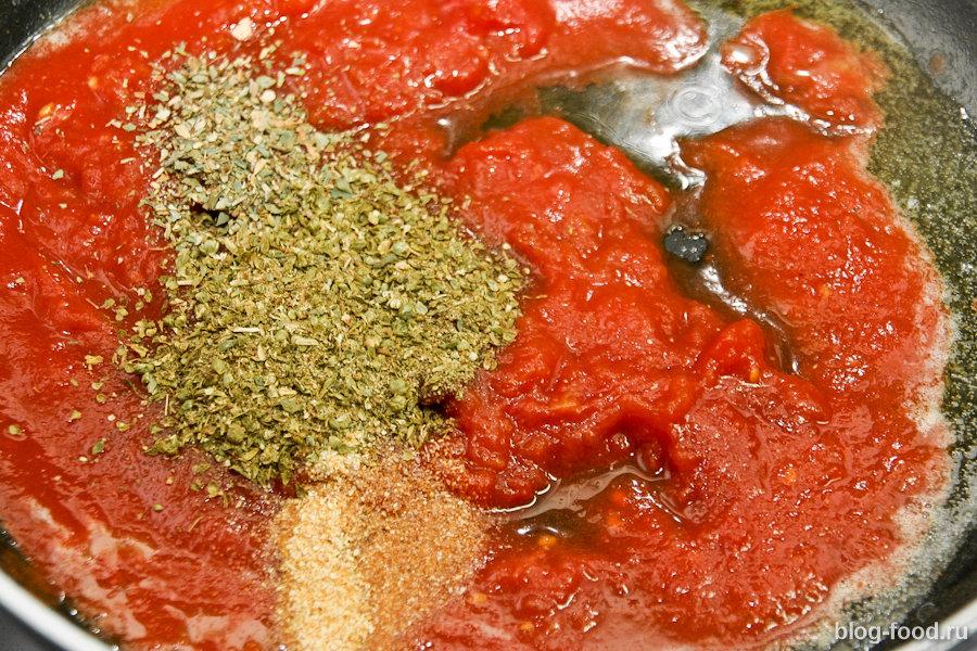 Фарфалле «Маргарита» с итальянским салатом