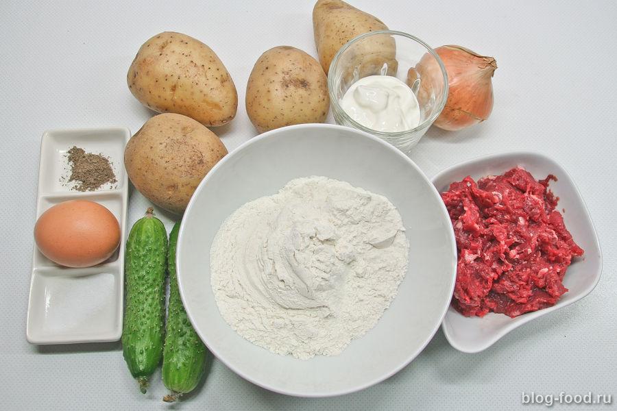 Картофельные кнедли