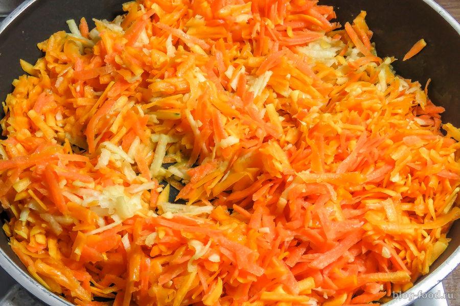 Куриные нагетсы с овощами