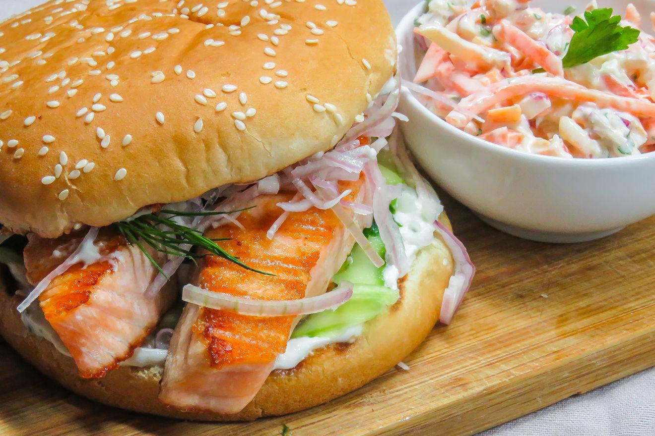 рыбный бургер рецепт с фото дальше нам