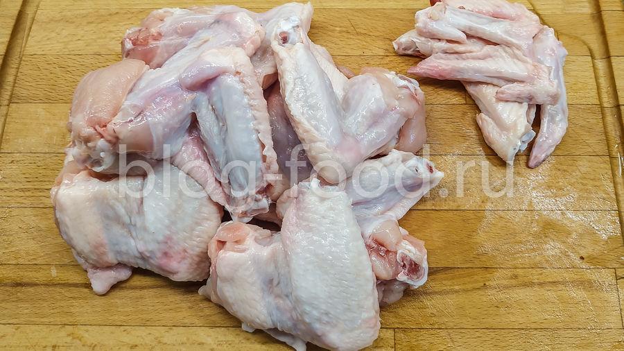 Куриные крылышки терияки на гриле