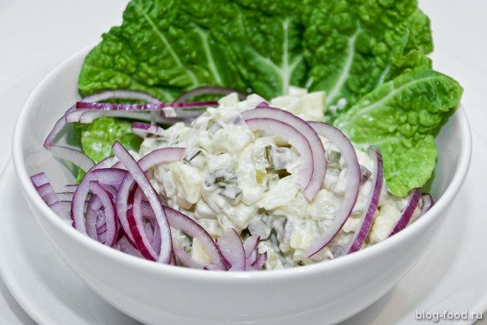 Шведский салат изсельди