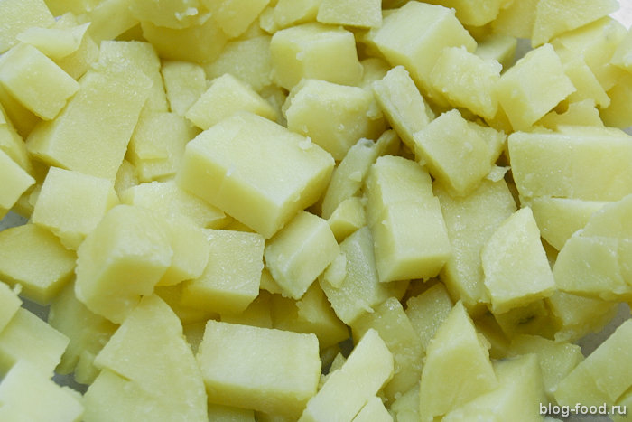 Салат излососевых молок