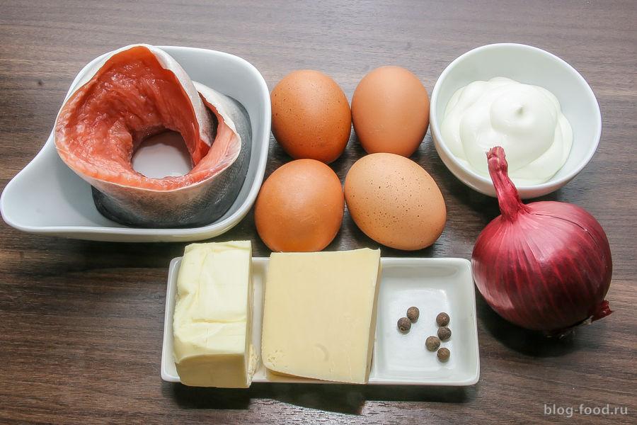 «Мимоза» со сливочным маслом