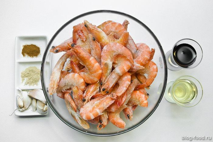 Жареные креветки рецепт сфото